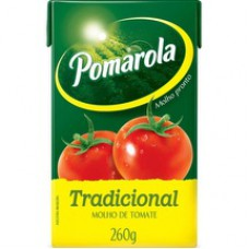 Molho Pomarola 260g Tp