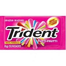 Goma De Mascar Trident 8g Tutti Frutti