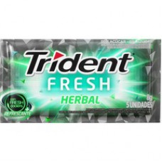 Goma De Mascar Trident 8g Herbal Fresh