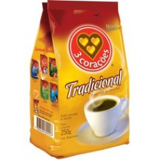 Cafe 3 Coracoes 250g Stand.pack Tradicional