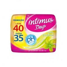 Absorvente Proteção Intimus Days L40p35 C/perfume