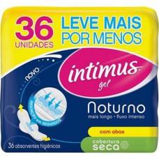 Absorvente Intimus Gel Not.c/abas L36 P30 Seca