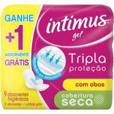 Absorvente Intimus Gel Normal C/abas L9 P8 Seca