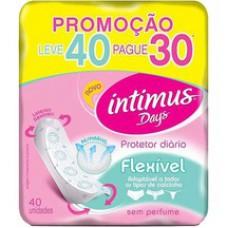 Absorvente Proteção Intimus Days L40p35 Flexivel