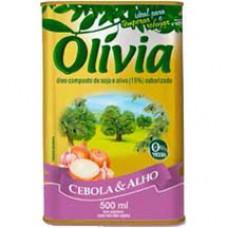 Oleo Composto Olivia 500ml Cebola E Alho