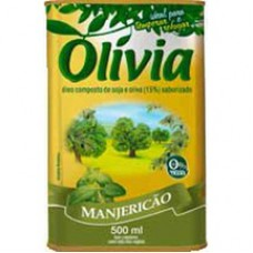 Oleo Composto Olivia 500ml Manjericao