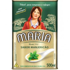 Oleo Composto Maria 500ml. Manjericao