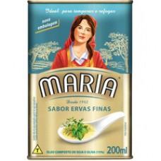 Oleo Composto Maria 200ml Ervas Finas