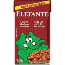 Extrato De Tomate Elefante 140g Tp