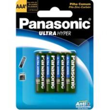 Pilha Panasonic Ultra Hiper 4un Aaa