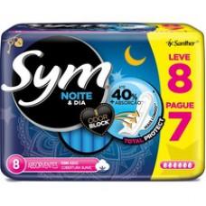 Absorvente Sym Noturno Com Abas Lv8 Pg7