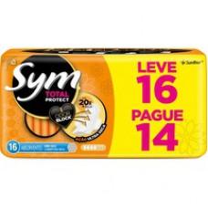 Absorvente Sym Normal Com Abas L16 P14 Seca