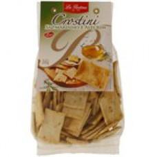 Biscoito Crostini It Sal Marinho Alecrin La Pastina  200g