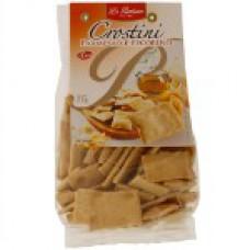 Biscoito Crostini It Parmesão Pecorino La Pastina  200g