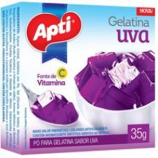 Gelatina Apti 35g Uva