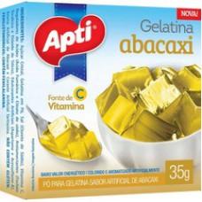 Gelatina Apti 35g Abacaxi