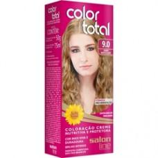 Coloração Color Total Salon Line Louro Muito Claro - 9.0