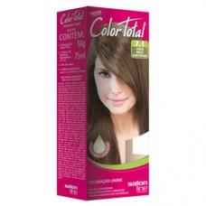 Coloração Color Total Salon Line Louro Médio Acinzentado - 7.1