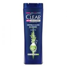 Shampoo Anticaspa Clear Men Controle E Alív. Da Coceira