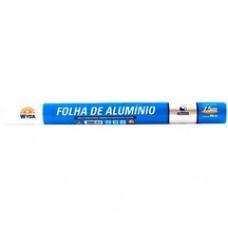 Rolo De Papel Alumínio Wida 45cm X 7,5m