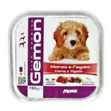 Gemon Cães Patê Carne E Fígado 150grs