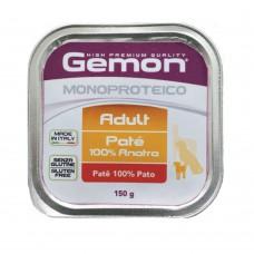 Gemon Monoproteíco Patê Pato 150grs