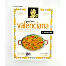 Tempero Carmencita Paellero Valenciana (03 Saches P/ 12 Porções)